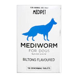 Mediworm For Small & Medium Dogs 10-22 Lbs 4 Tablet
