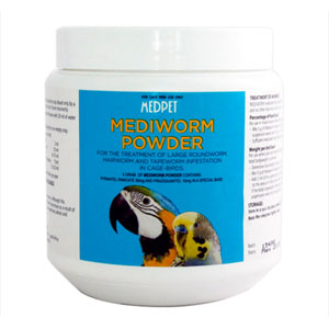 Mediworm Powder for Bird Supplies