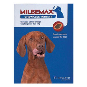 Milbemax Chewable For Large Dogs Over 5 Kgs 1 Chews