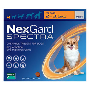 Nexgard Spectra Chewable Tablets for Dogs
