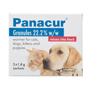 Panacur Worming Granules 4.5 Gm 3 Sachet
