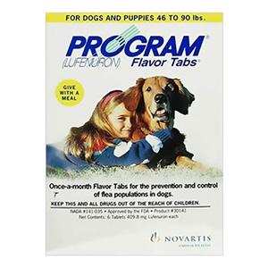 Program Flavor Tablets For Dogs 44.1 - 88 Lbs Grey 6 Tablet