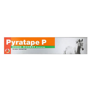 Pyratape P Worming Paste for Horses