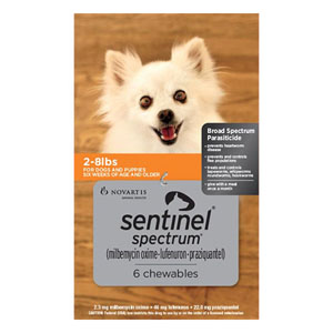 Sentinel Spectrum for Dogs