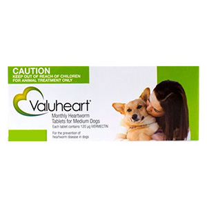 Valuheart For Medium Dogs 23-44 Lbs Green 6 Pack